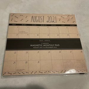 RAE DUNN Magnetic Monthly Pad